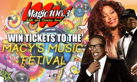 WIN TICKETS TO THE MACY'S MUSIC FESTIVAL