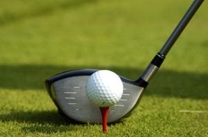 Golf-Driver-Abschlag