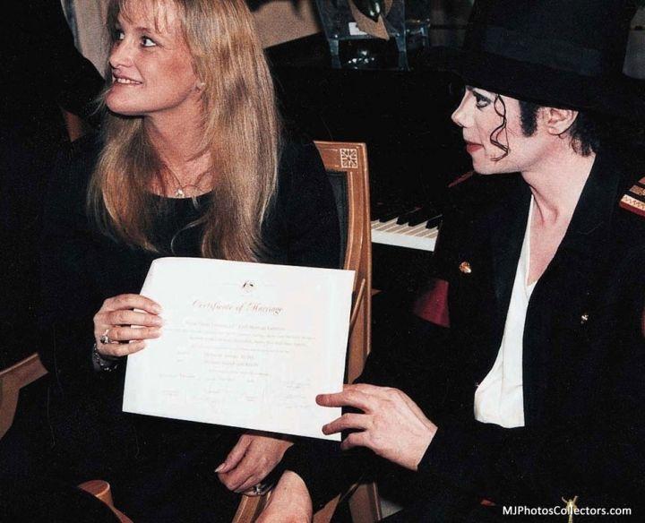 Debbie Rowe & Michael Jackson