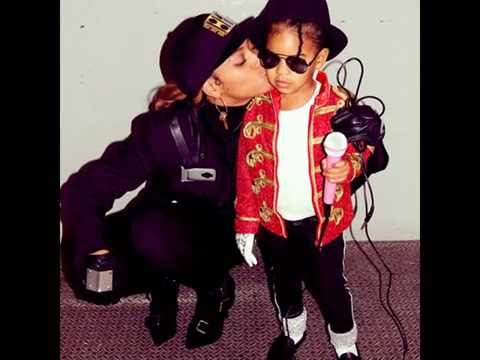 Blue Ivy Carter & Beyonce