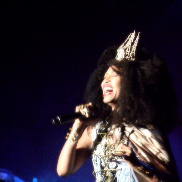 Erykah Badu Surprise Guest at Outkast ATLast Concert