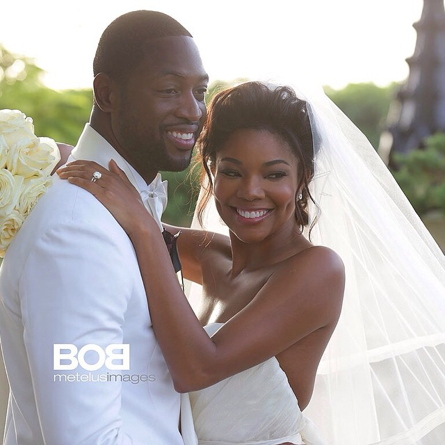 Dwaine Wade & Gabrielle Union