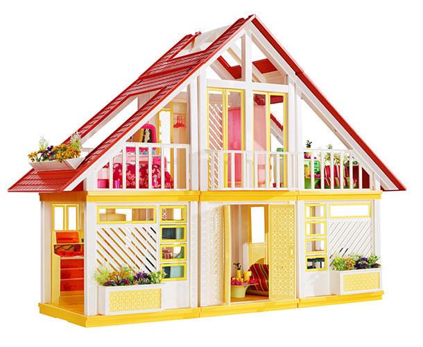 The Barbie Dream House