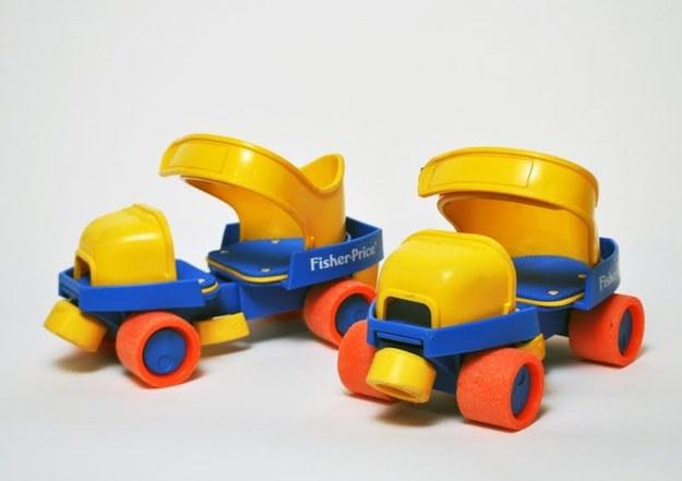 Fisher Price 1-2-3 Roller Skates