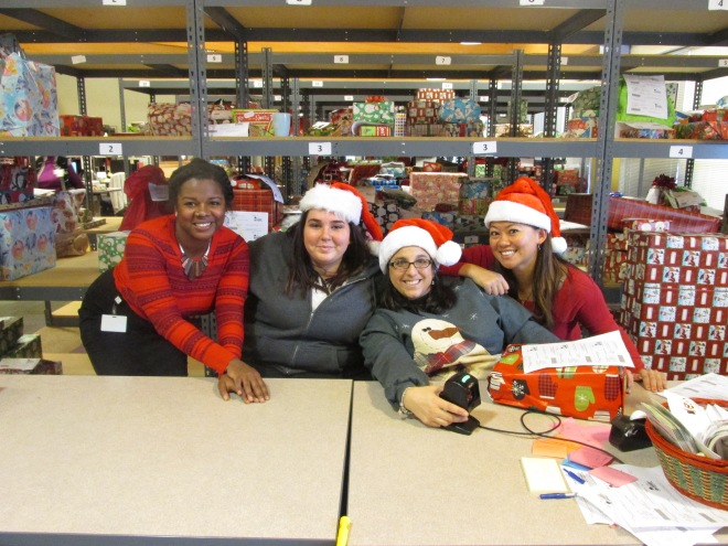 Nia noelle at franklin county children services holiday wish magic