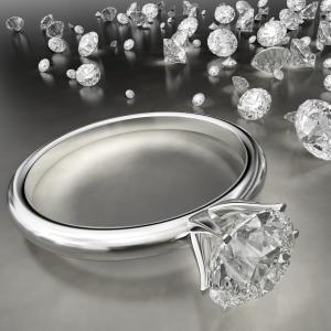 Diamond Ring with Other Diamonds