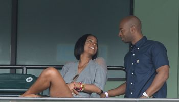 Celebrity Sightings At Sony Open Tennis - March 29, 2014