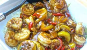 Chinese Lemon Pepper Shrimp