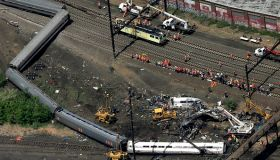 Amtrak train crash philadelphia