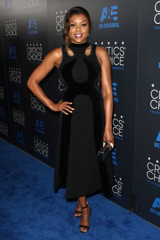 taraji p. henson at critics choice awards
