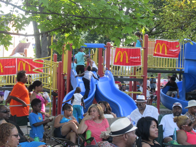 Heritage Concert Series McDonald's Play Area