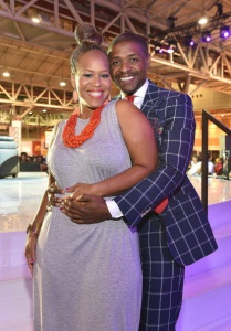 Tina Campbell and Husband