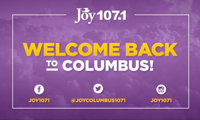 Joy 107.1 Graphics