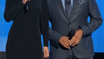 Tracee Ellis Ross and Anthony Anderson at 2014 American Music Awards - Show