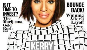 Kerry Washington Ebony Cover
