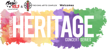 The 18th Annual Heritage Concert Series background