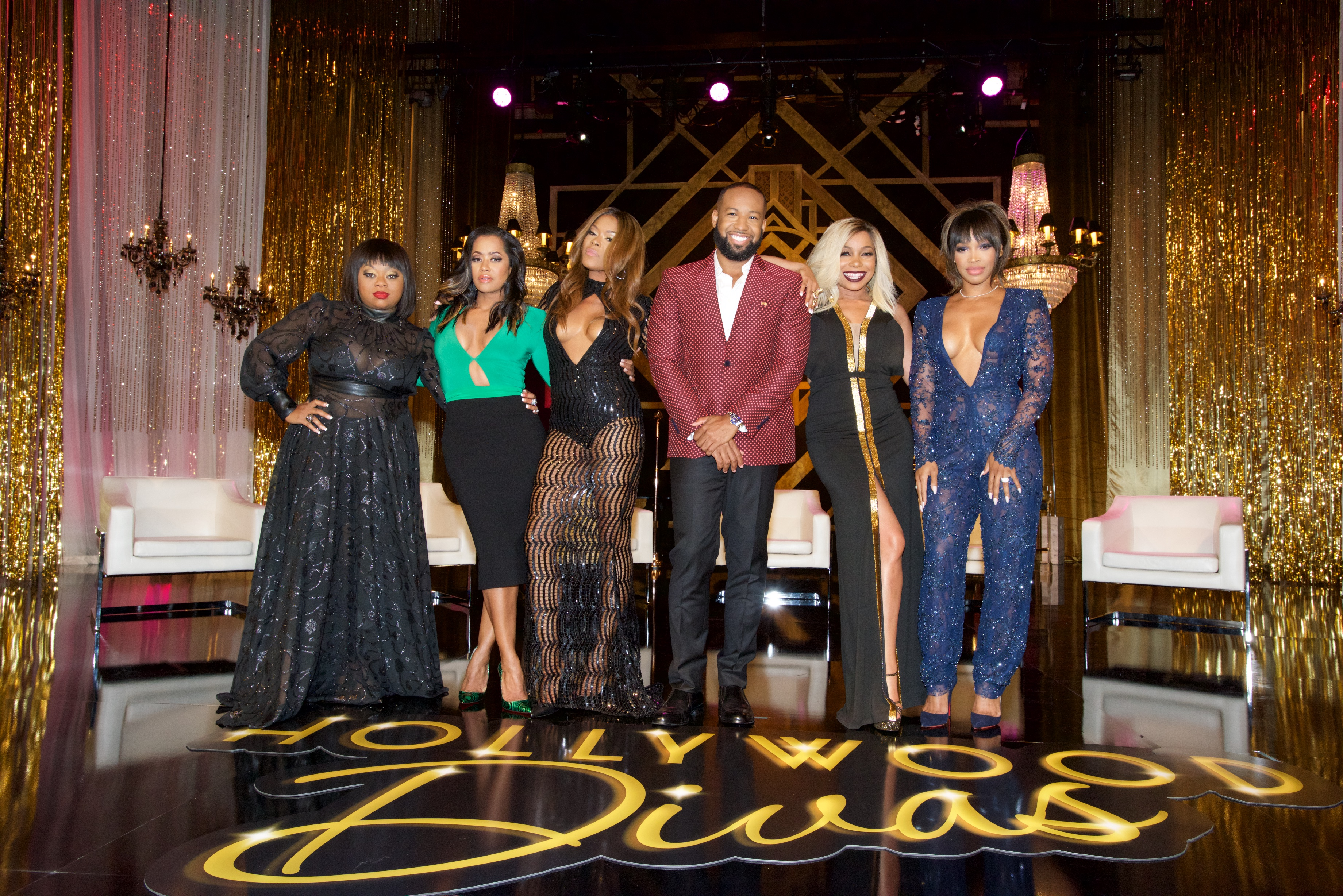 TV One's 'Hollywood Divas' Reunion Special Filming