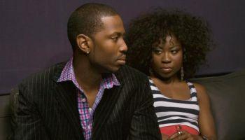 Serious Couple