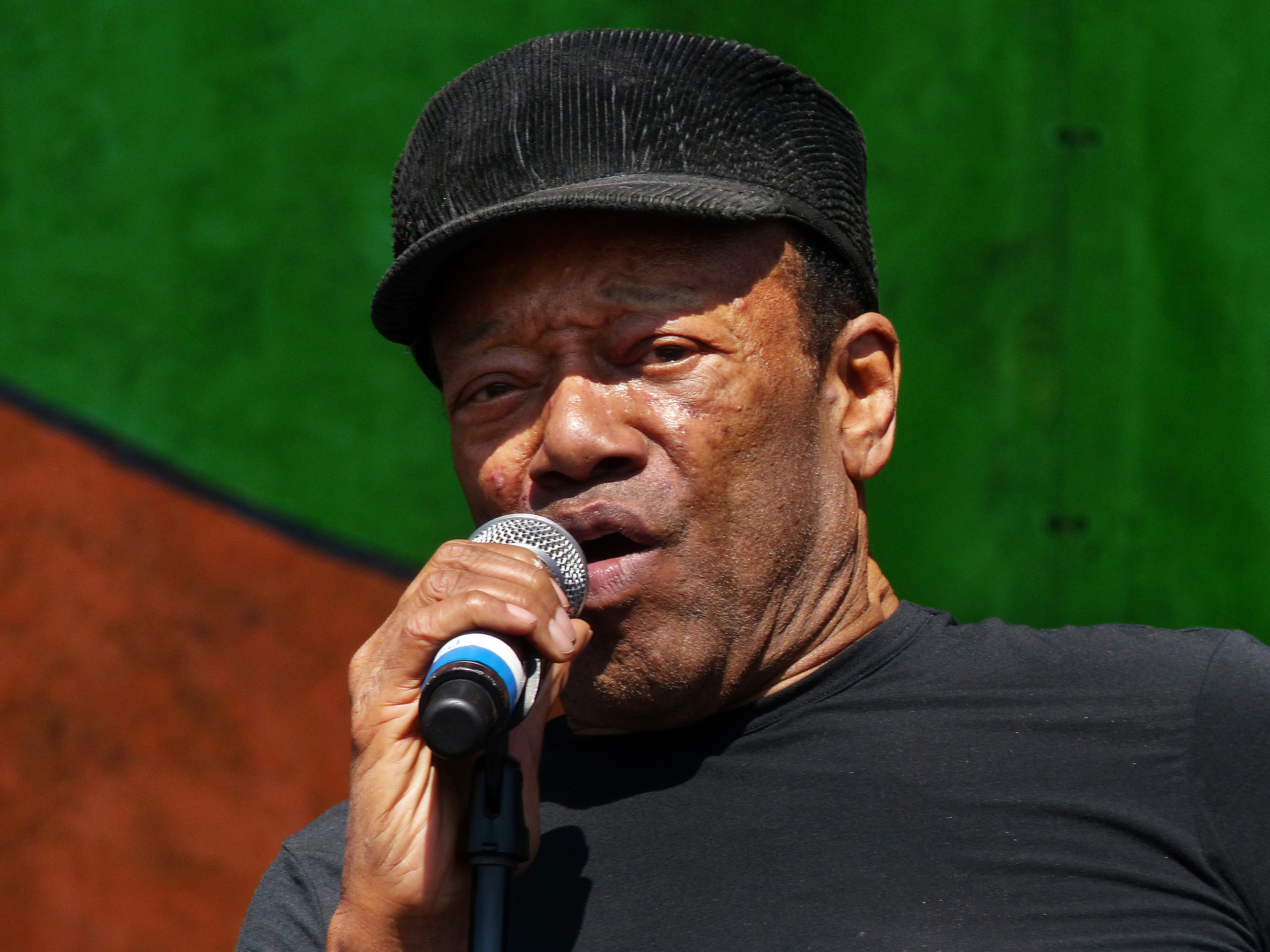 Bobby Womack Performs At New Orleans