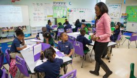 New Orleans Charter School Classroom