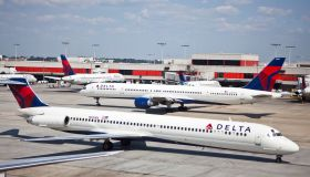 USA - Transportation - Delta Airlines Hub at Hartsfield-Jackson Atlanta International