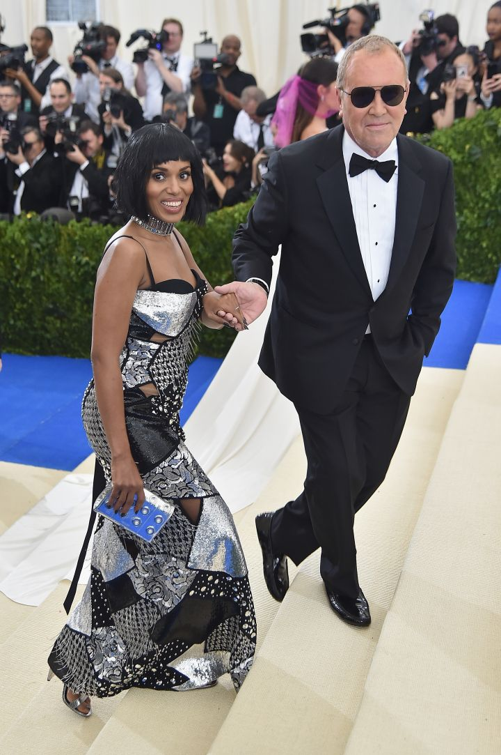 Kerry Washington & Michael Kors