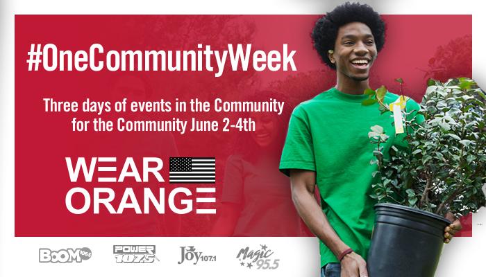 one community week