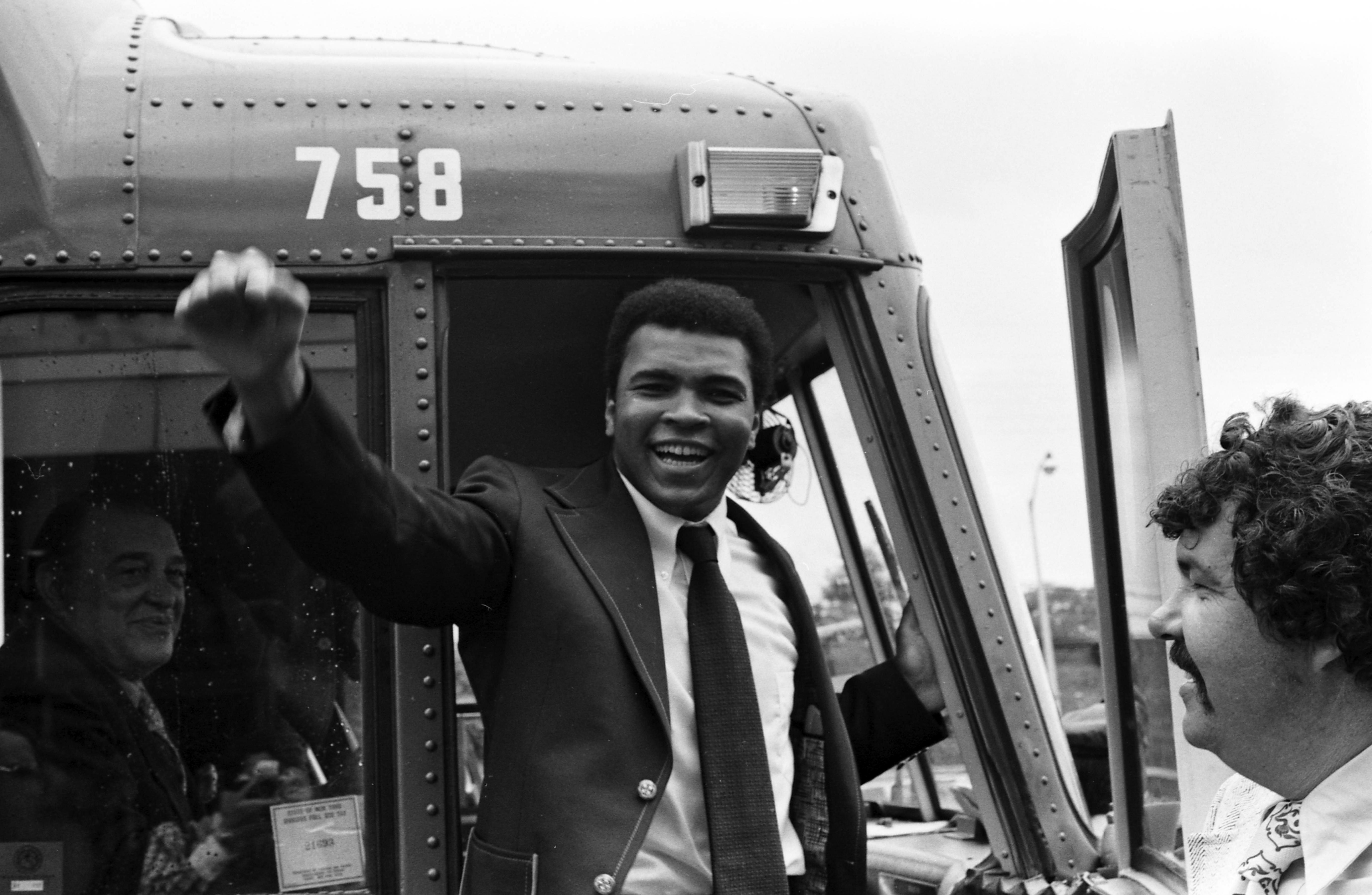 Muhammad Ali bus tour
