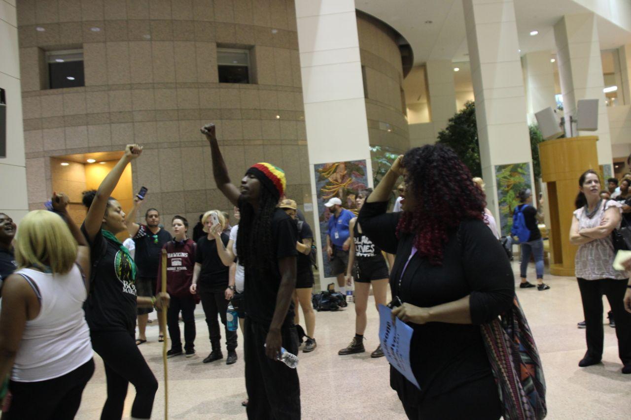 City Council Protest