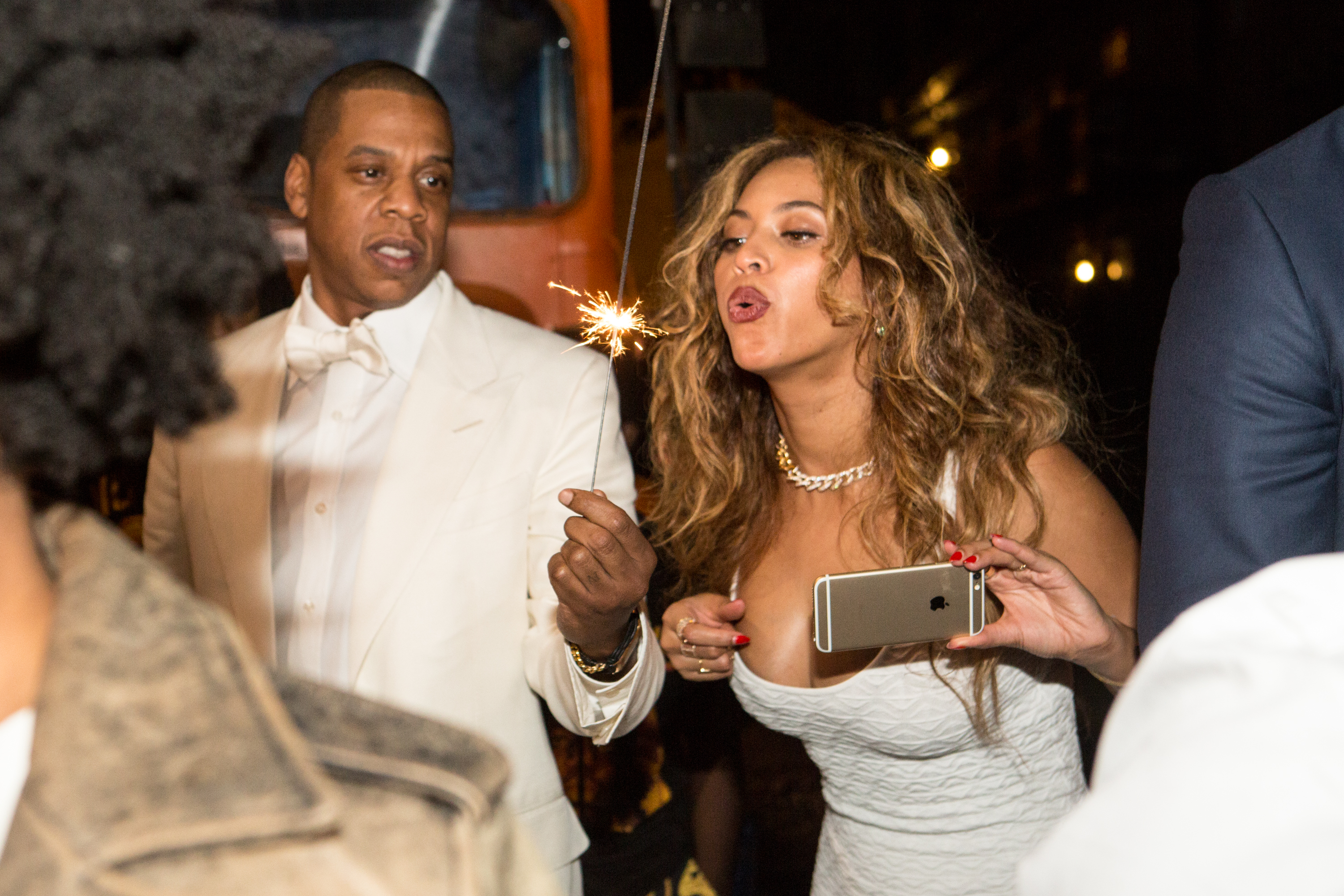Beyonce At Solange Wedding