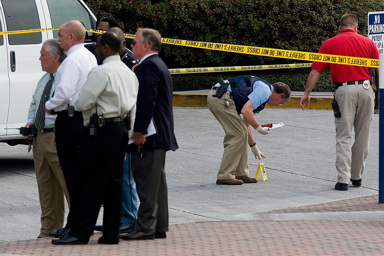 Hospital shootings