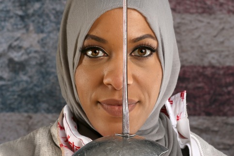 Ibtihaj Muhammad USA Fencer