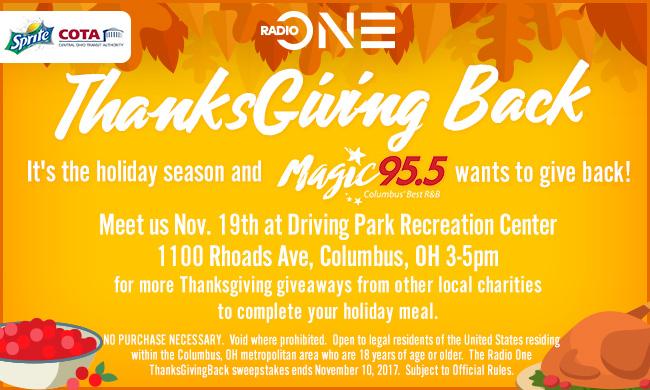 radio one thanksgiving