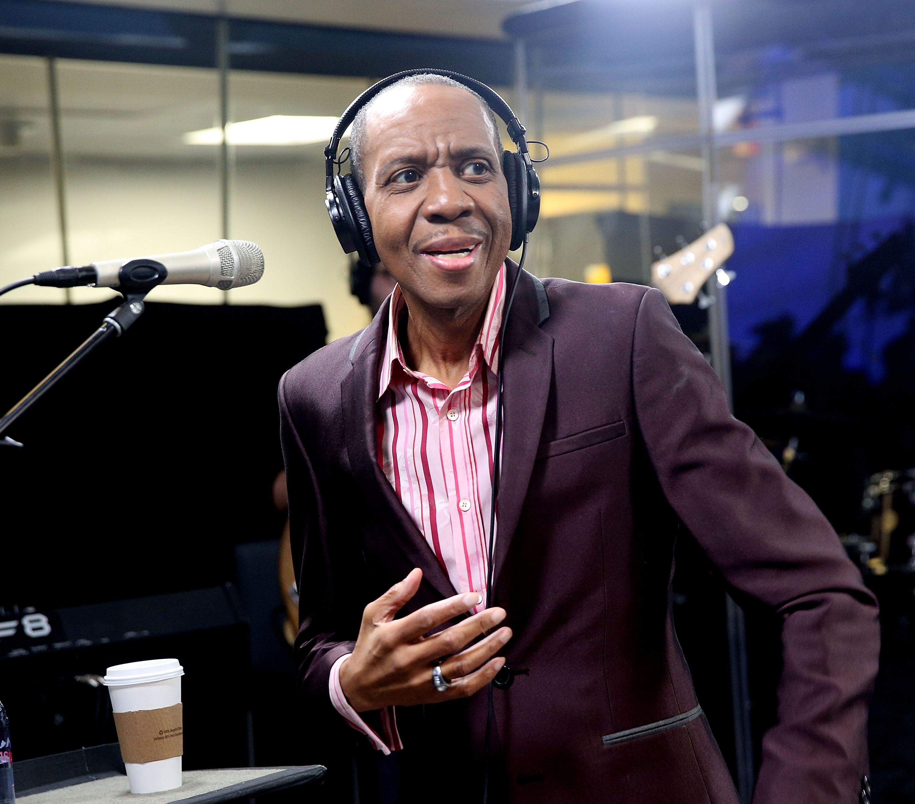 Freddie Jackson Performs On SiriusXM's The Groove Channel