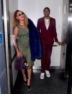 Beyonce and Jay Z on Dec 4