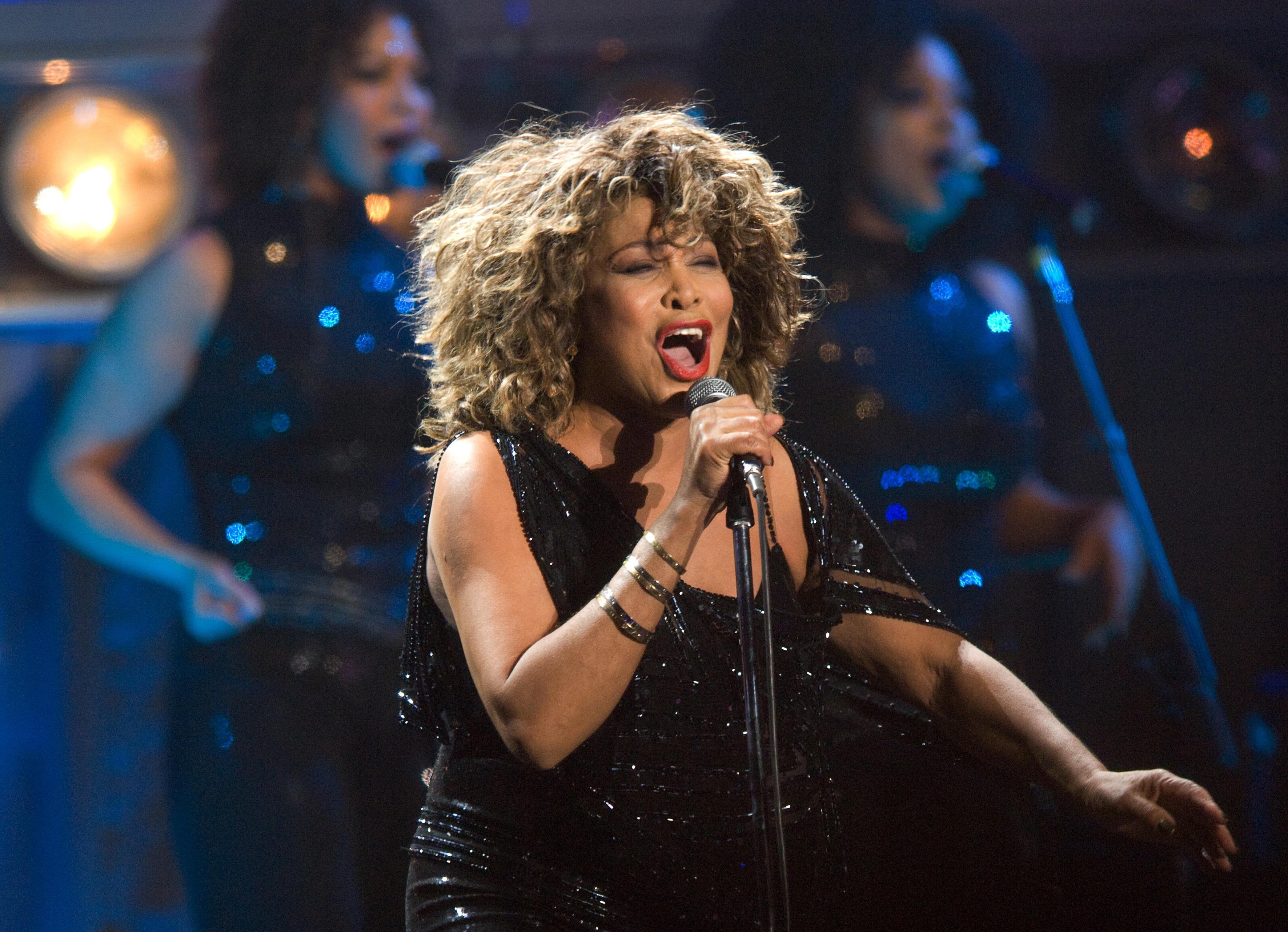 Tina Turner Performs In Arnhem