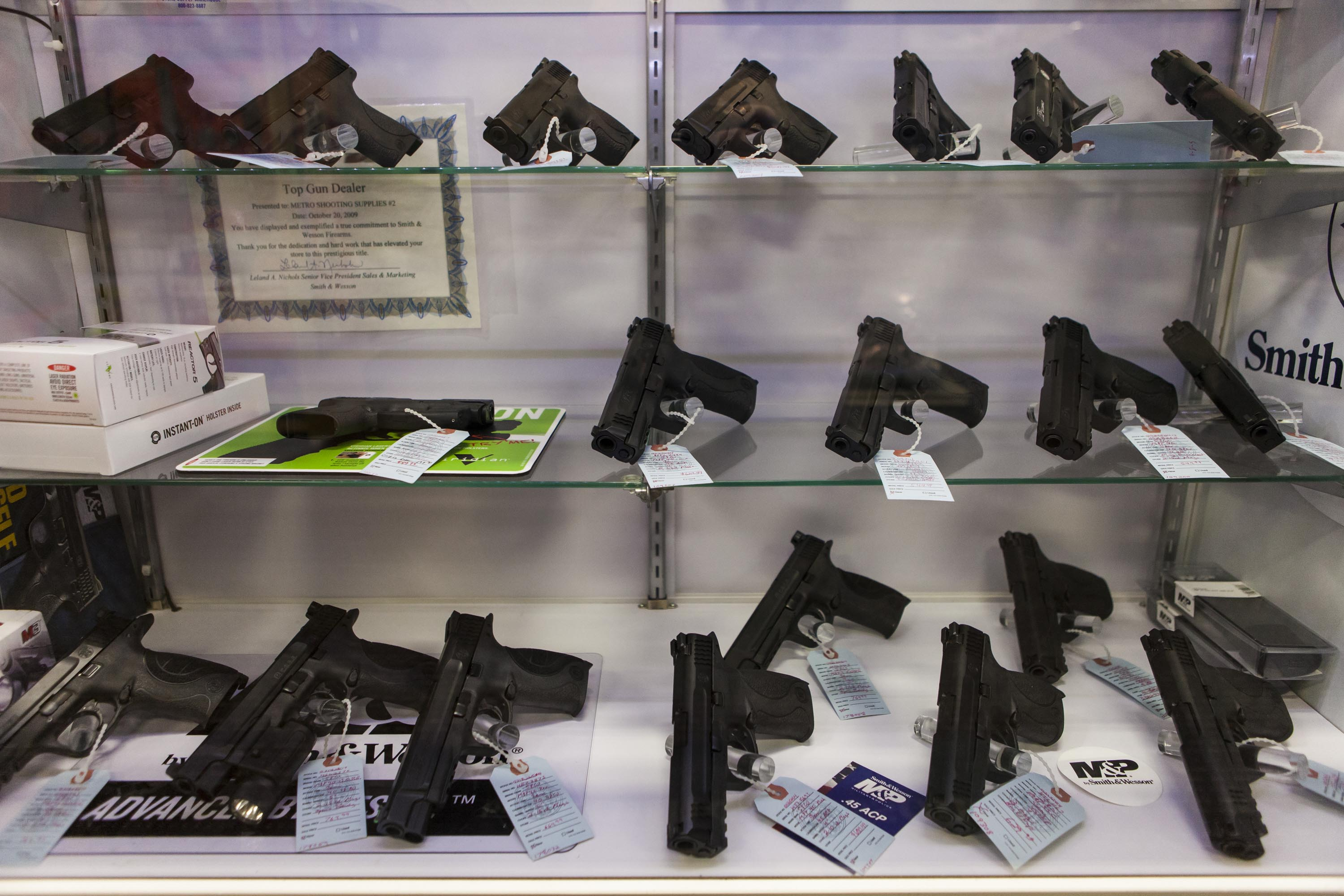 Gun Shop Sees Increase in Business Ahead of Awaited Grand Jury Decision Near Ferguson