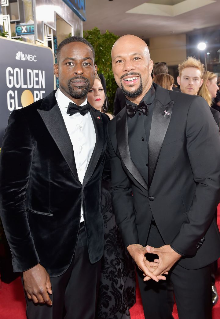 Melanin in Black at the 75th Annual Golden Globe Awards