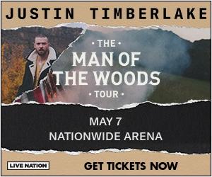 Justin Timberlake at Nationwide Arena
