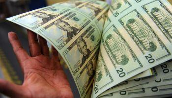 Bureau of Engraving and Printing making money.