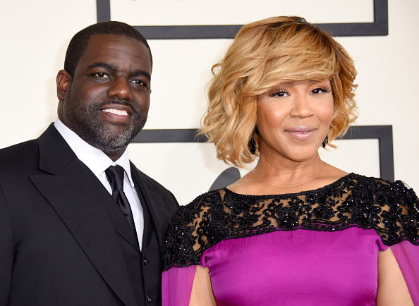 Erica Campbell and Warryn Campbell