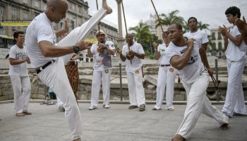 BRAZIL-UNESCO-CAIS DO VALONGO-CAPOEIRA