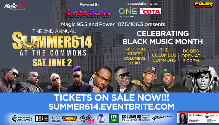 Enter for a Chance to Win Summer 614 Concert Tickets   Magic