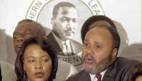 Martin Luther King III at SCLC Press Conference