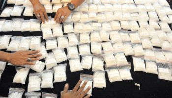 15.5 Kilos Of Methamphetamine Seized In Jakarta
