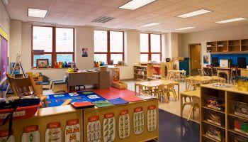 Classroom at Baychester Academy, Bronx, New York