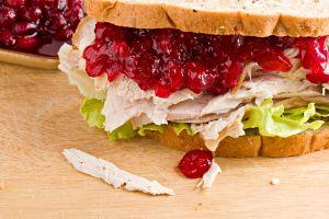 Turkey And Cranberry Sandwich
