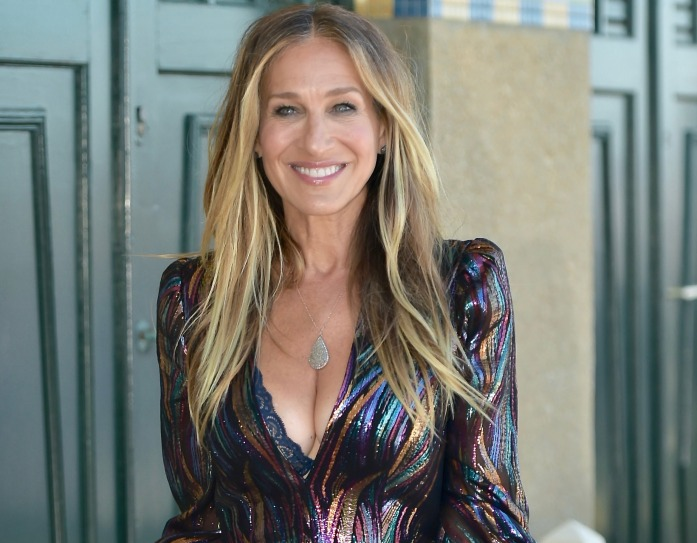 Sarah Jessica Parker unveils her dedicated beach closet during the 44th Deauville American Film Festival