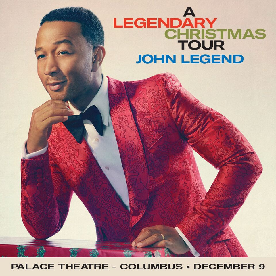 John Legend: A Legendary Christmas – Sunday, December 9th | Magic ...