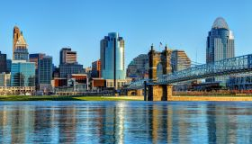 Downtown Cincinnati Ohio Skyline